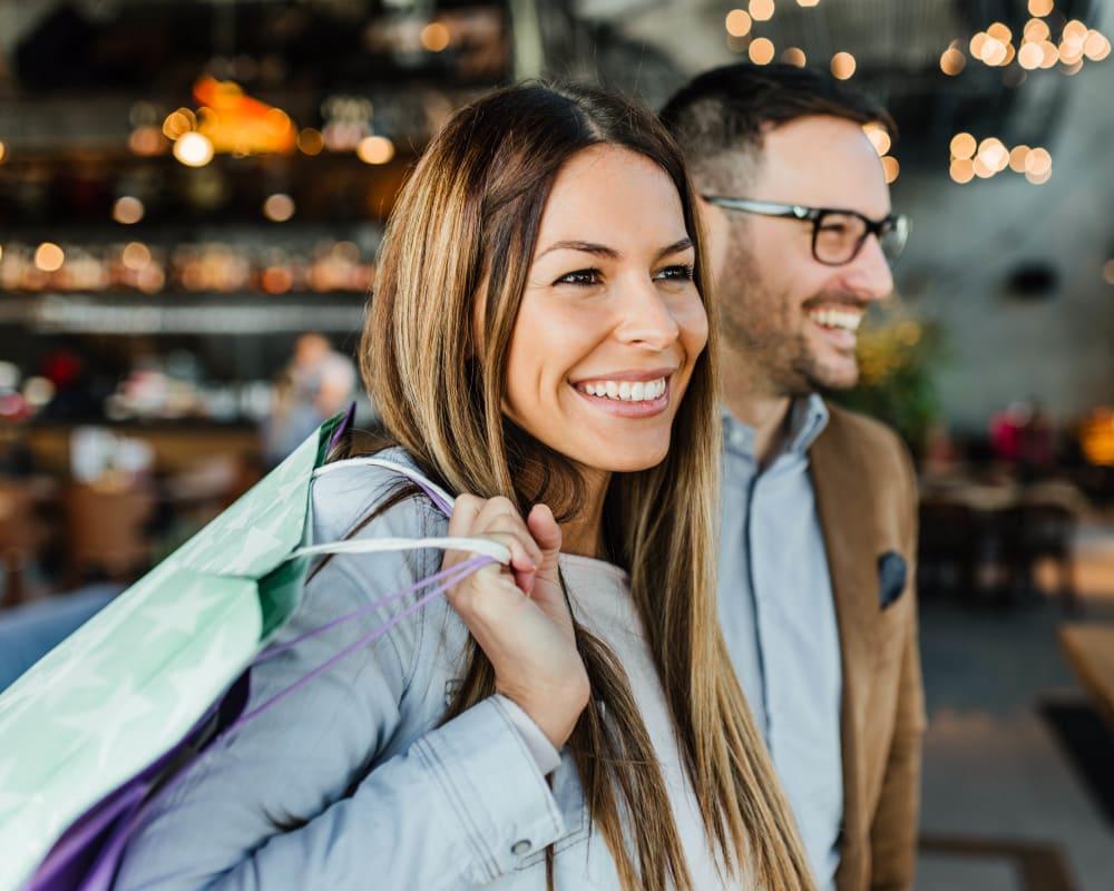 Shopping and stores near The Davenport in Sacramento, California