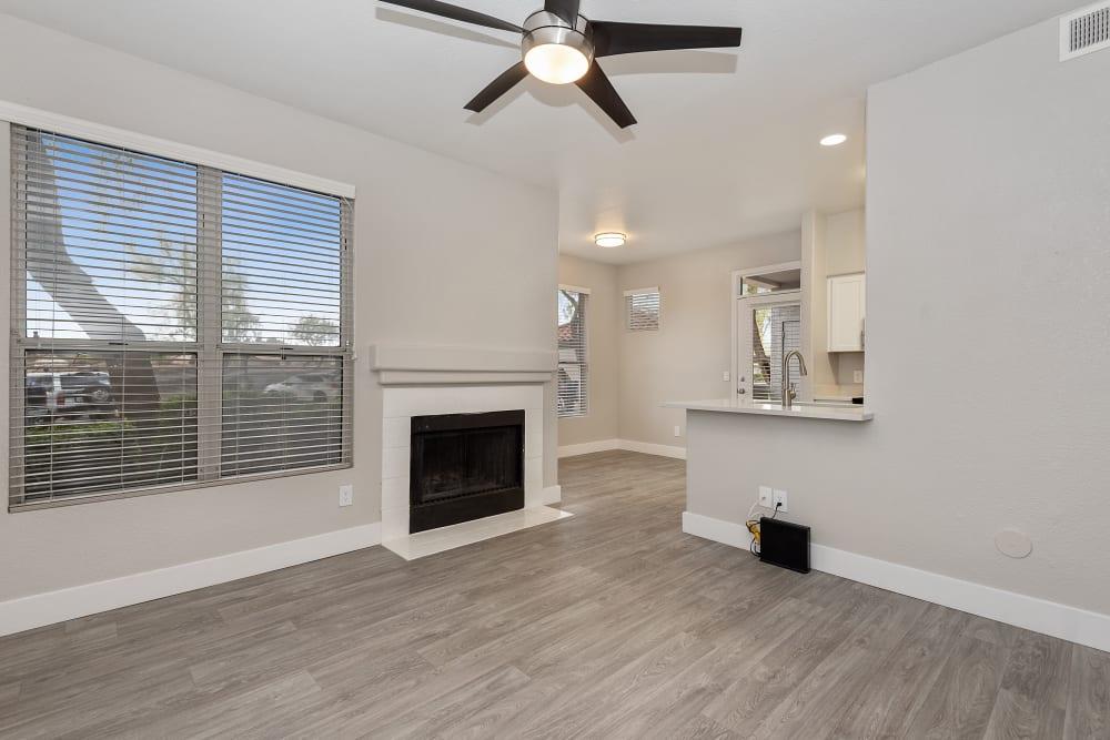 Spacious Living Room at The Retreat Apartments in Phoenix, Arizona