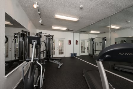 Free gym at Cedar Glen Apartments
