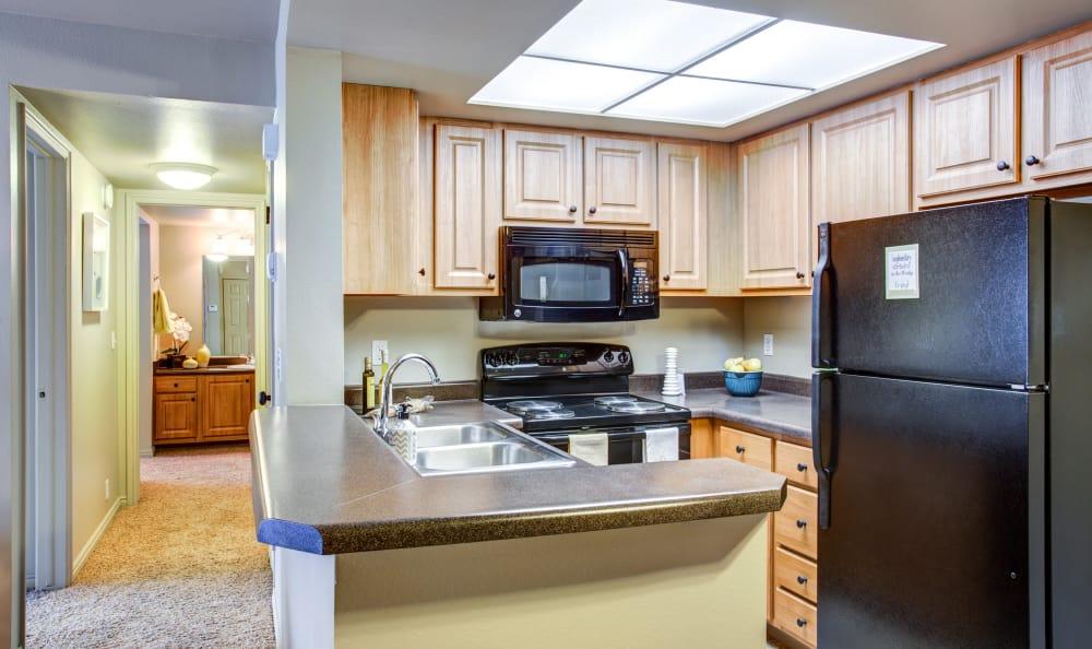 Updated Kitchen At Royal Farms Apartments; Royal Farms Apartments Bedroom  ...