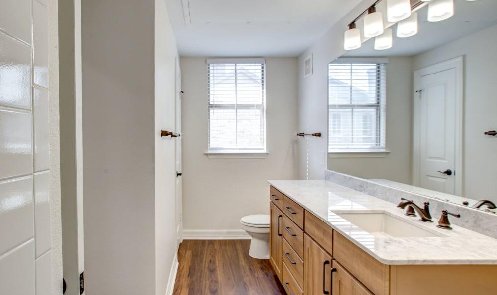 Beautiful bathroom at Riata Austin in Austin, Texas