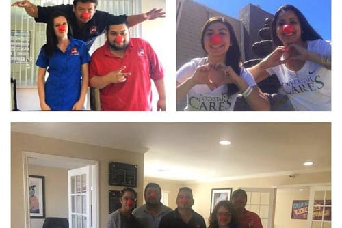 Midtown Grove Apartments participates in red nose day