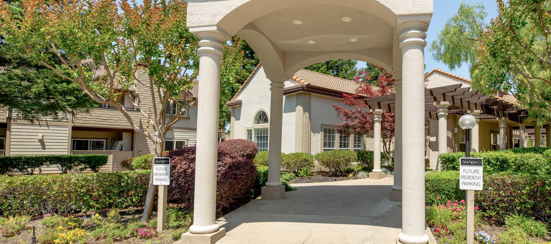 Exterior view at Shaliko in Rocklin, California.