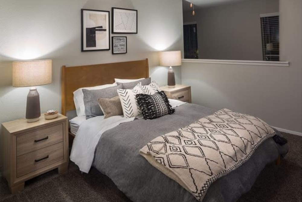 Large bedroom at Broadstone Briar Forest in Houston, Texas