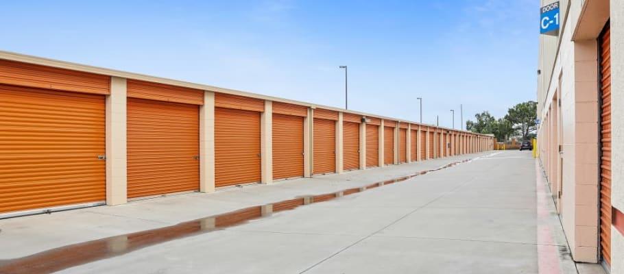 Drive-up storage units in San Jose, California at A-1 Self Storage