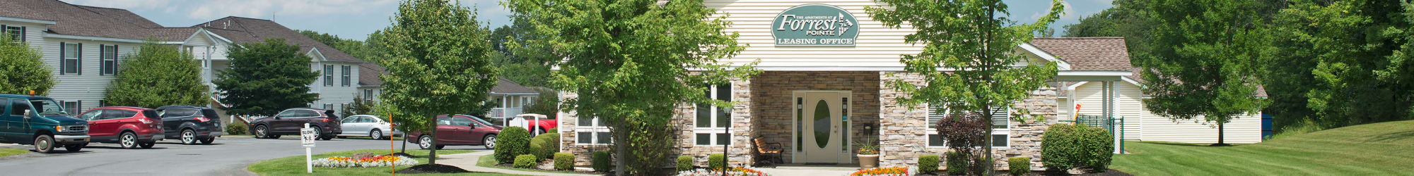 Floor Plans at Forrest Pointe Apartments and Townhomes in East Greenbush