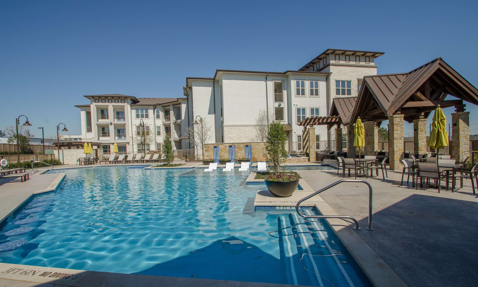 Learn more about our apartment community at Domain at Midtown Park in Dallas