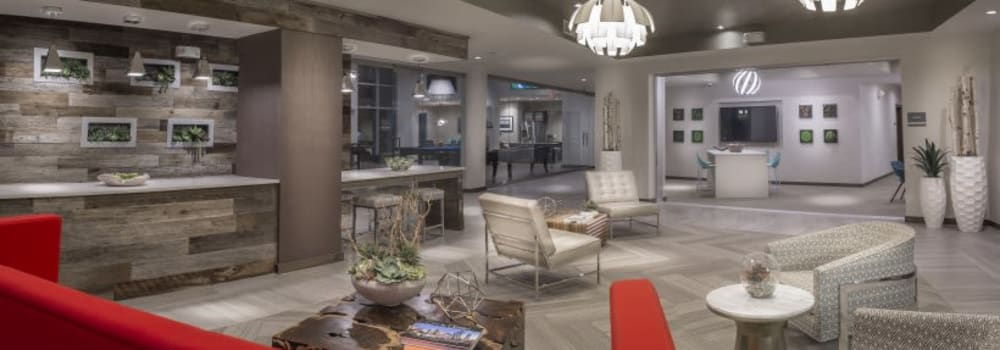 Enjoy Apartments with a Luxurious Clubhouse at Greenhouse in Houston, Texas