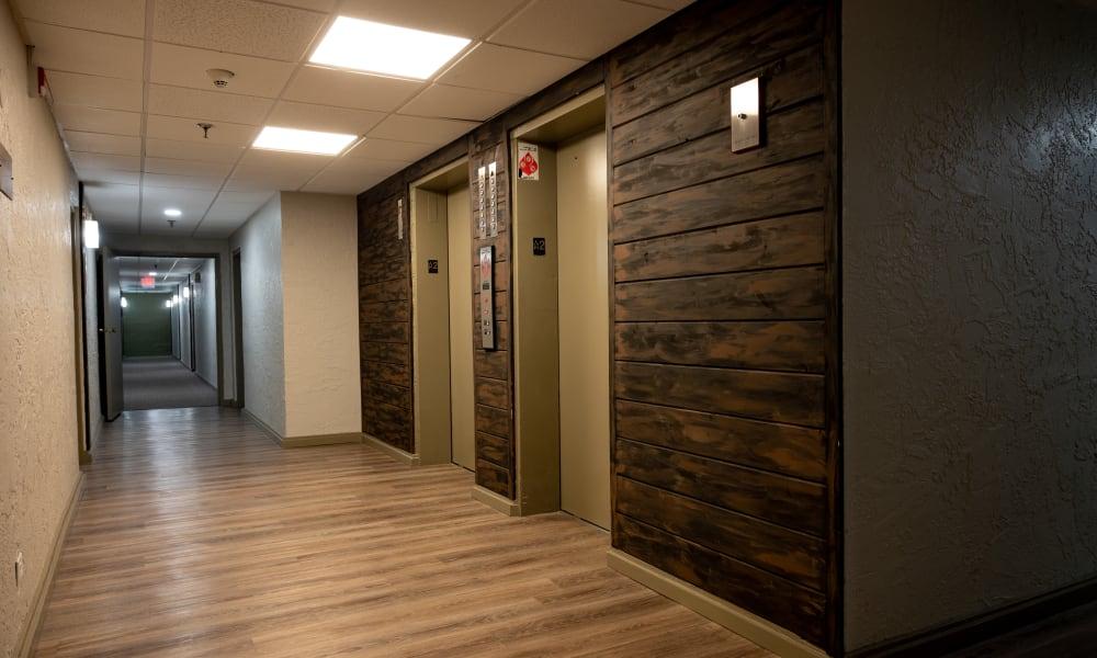 Mandalane Apartments elevators in Wheeling, Illinois