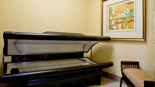 Tanning bed at Integra Landings in Orange City, FL