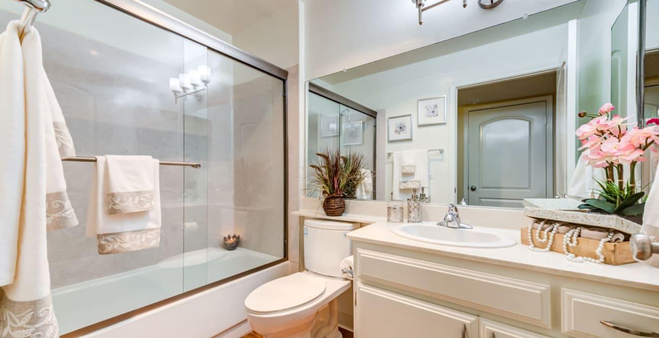Bathroom at The Ritz in Studio City, CA