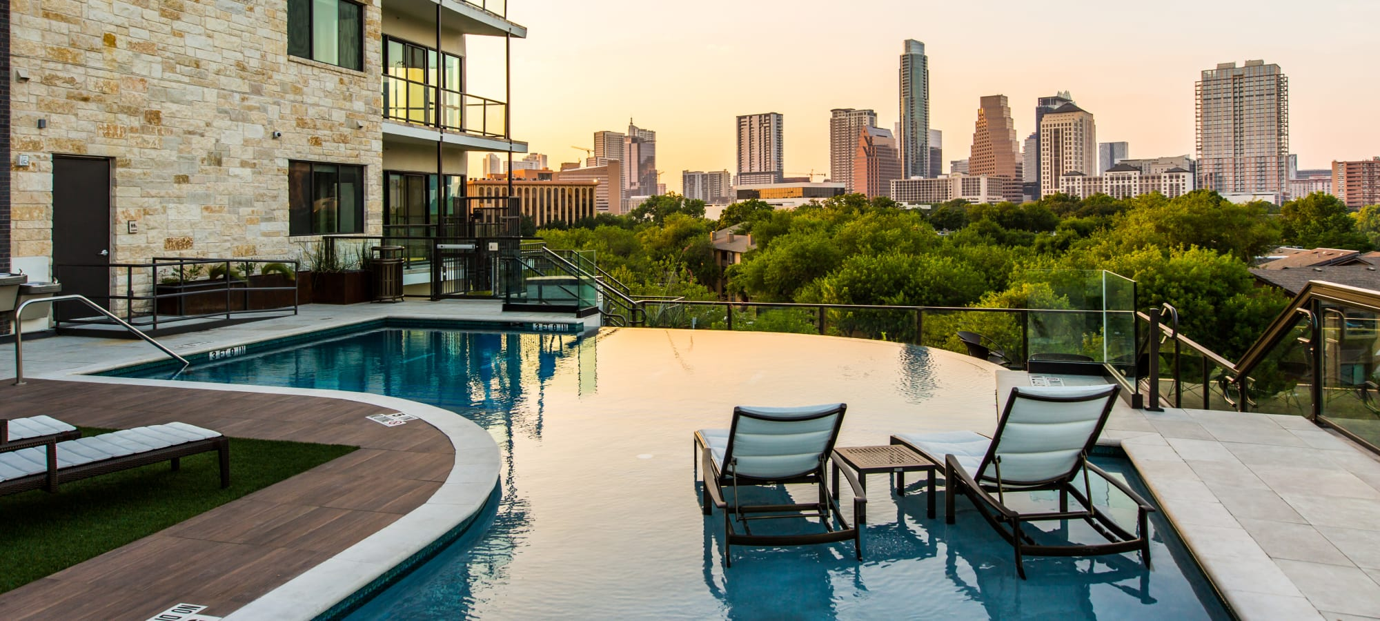 Amenities at Water Marq in Austin, Texas