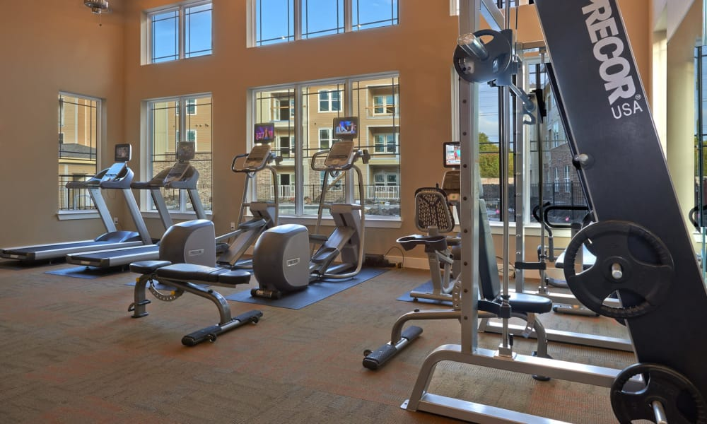 Seventeen15 offers a fitness center in Houston, Texas