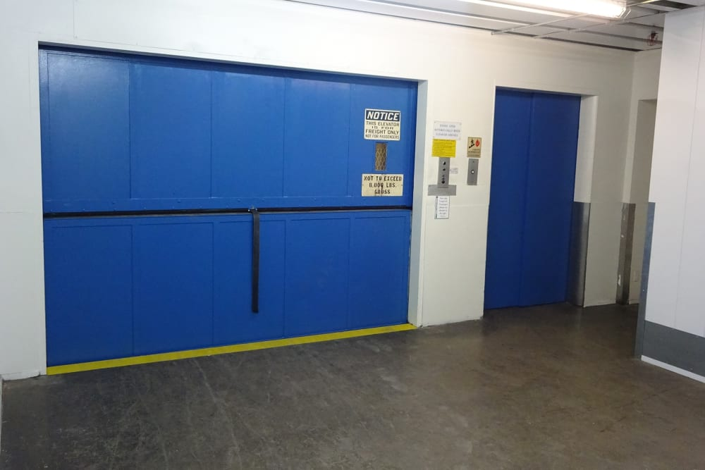 Elevator and Lift at Storage Etc... Torrance