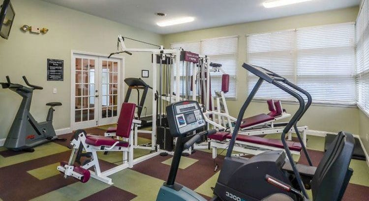Stay healthy in our fitness center at Village of Westover