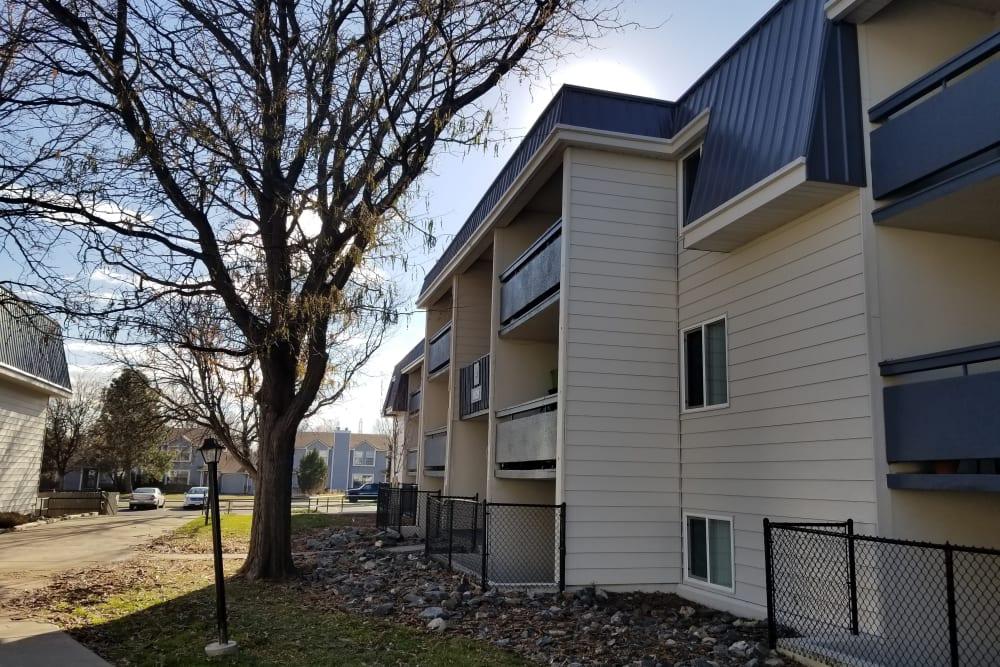 Exterior of Park Terrace in Arvada, Colorado