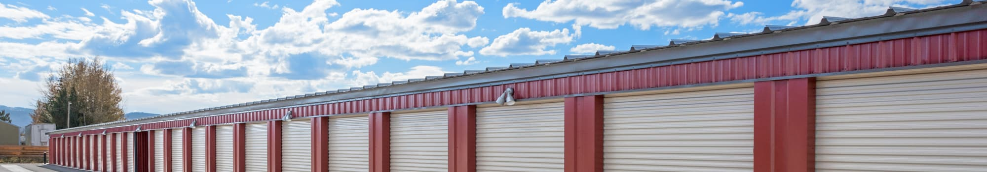 Self storage units for rent in Victor, ID