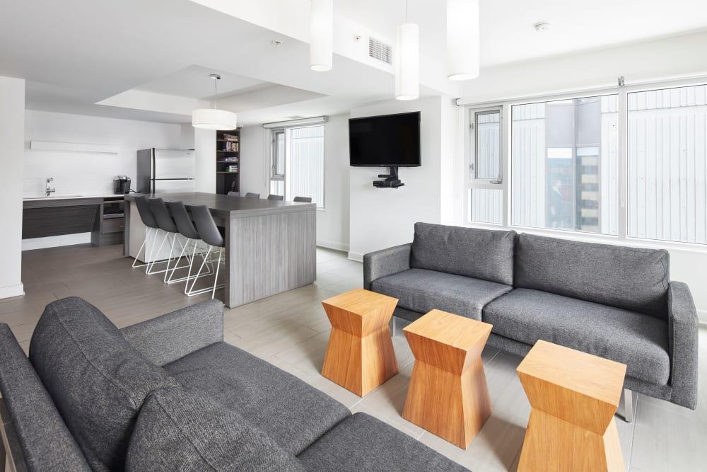 Clubhouse at 19Twenty Apartments in Halifax, Nova Scotia