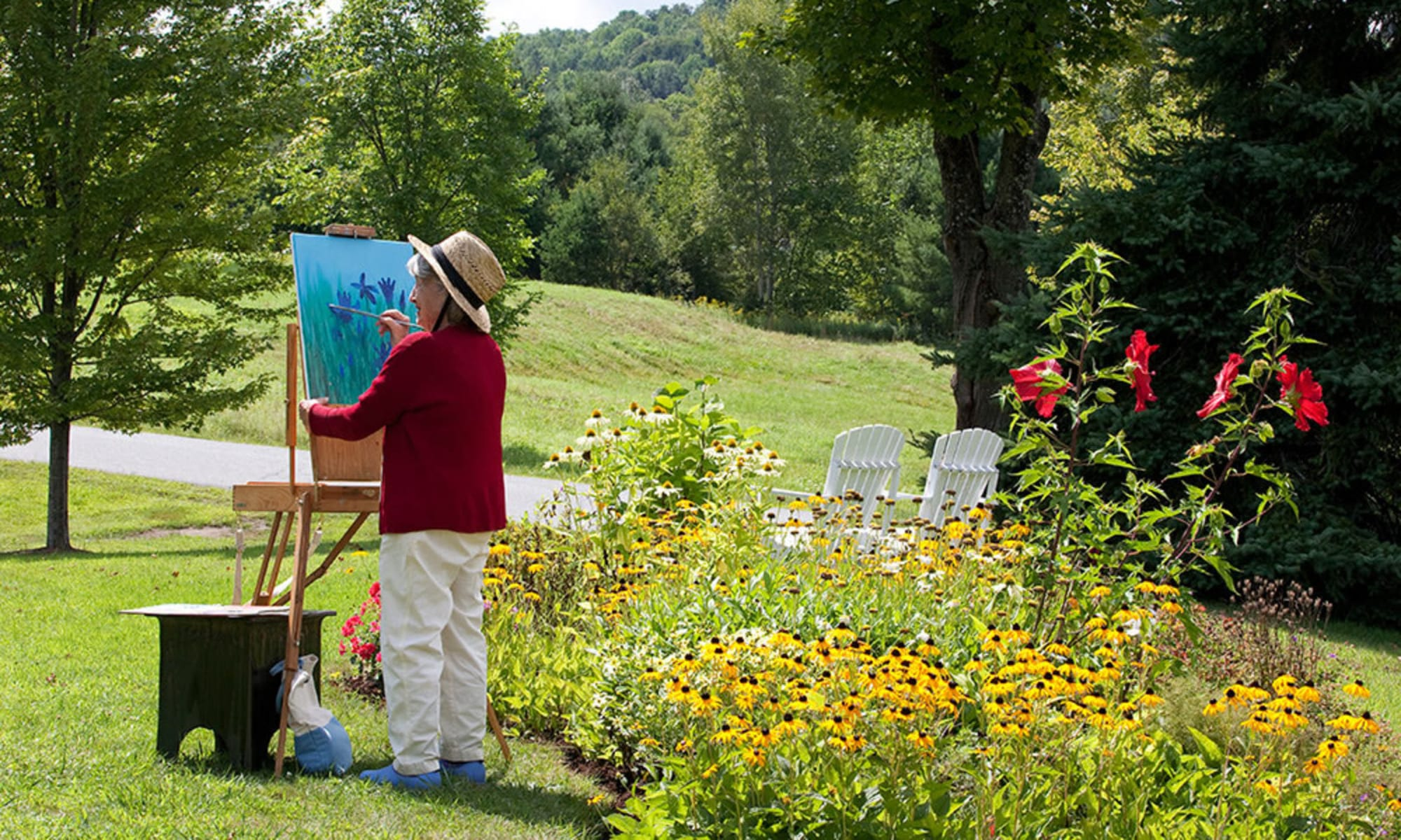 Senior living at Valley Terrace in White River Junction, Vermont