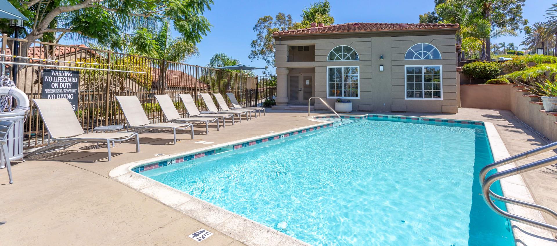 Pool at Niguel Summit Condominium Rentals in Laguna Niguel, CA