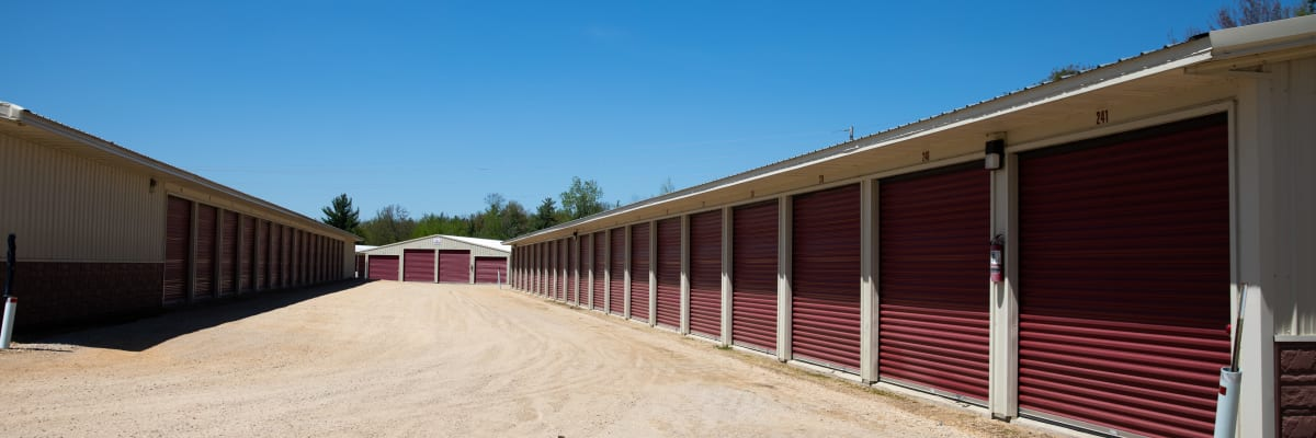 Unit size guide from KO Storage of Tomah - McCoy in Tomah, Wisconsin
