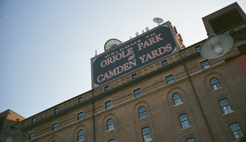 Camden Yards in Baltimore, Maryland near Calloway Row Apartments
