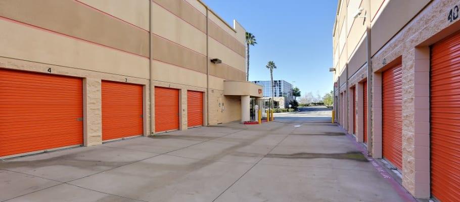 Convenient drive-up storage at A-1 Self Storage in San Diego, California