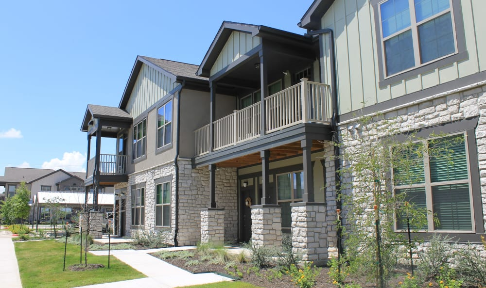Townhome Style Apartment at Springs at Round Rock