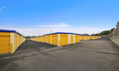 Exterior Storage Units at Huebner Mini-Stor in San Antonio, Texas