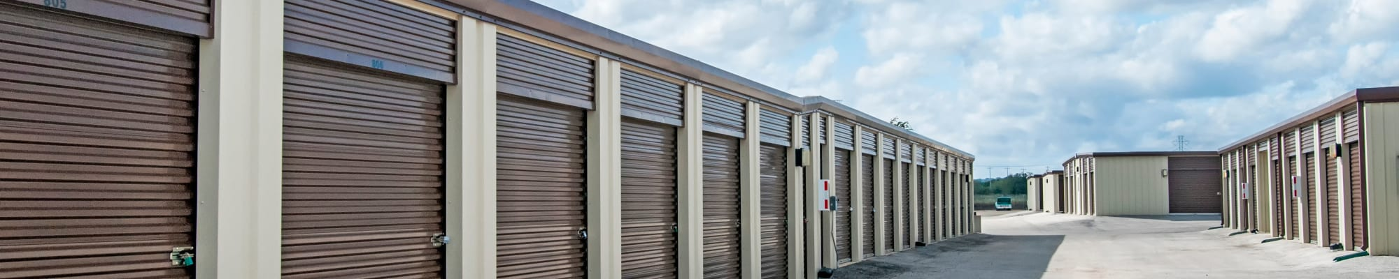 Unit sizes and prices at Lockaway Storage in San Antonio, Texas