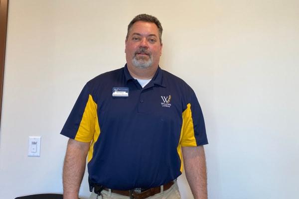 Tim Gallus at Jaybird Senior Living in Cedar Rapids, Iowa