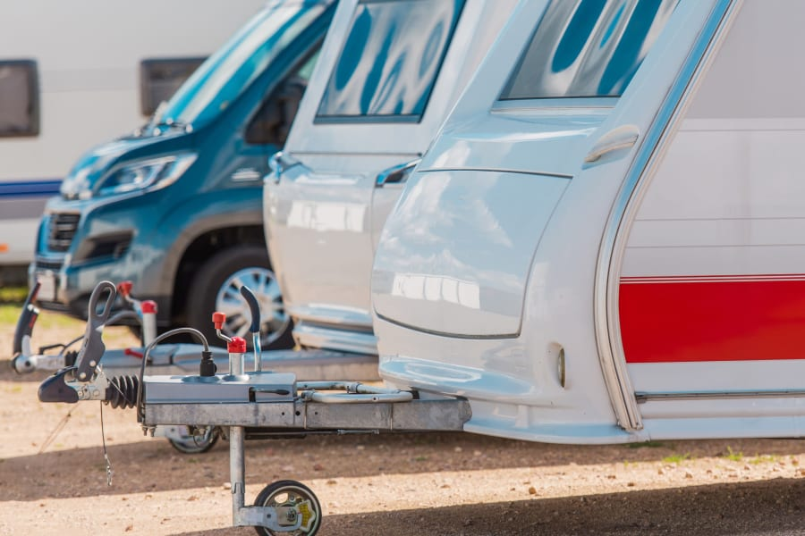 RV parking at 603 Storage in Pittsfield, New Hampshire