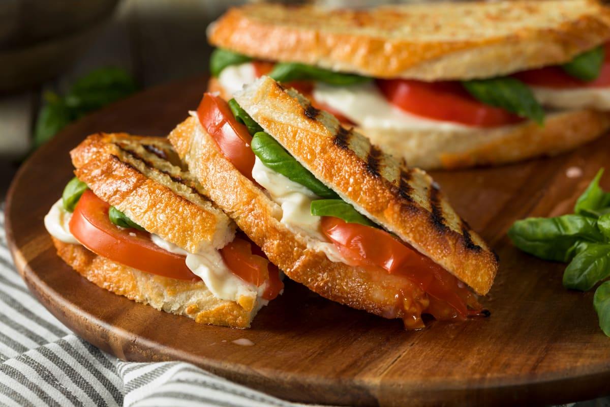 Panini sandwich at Broadwell Senior Living in Plymouth, Minnesota