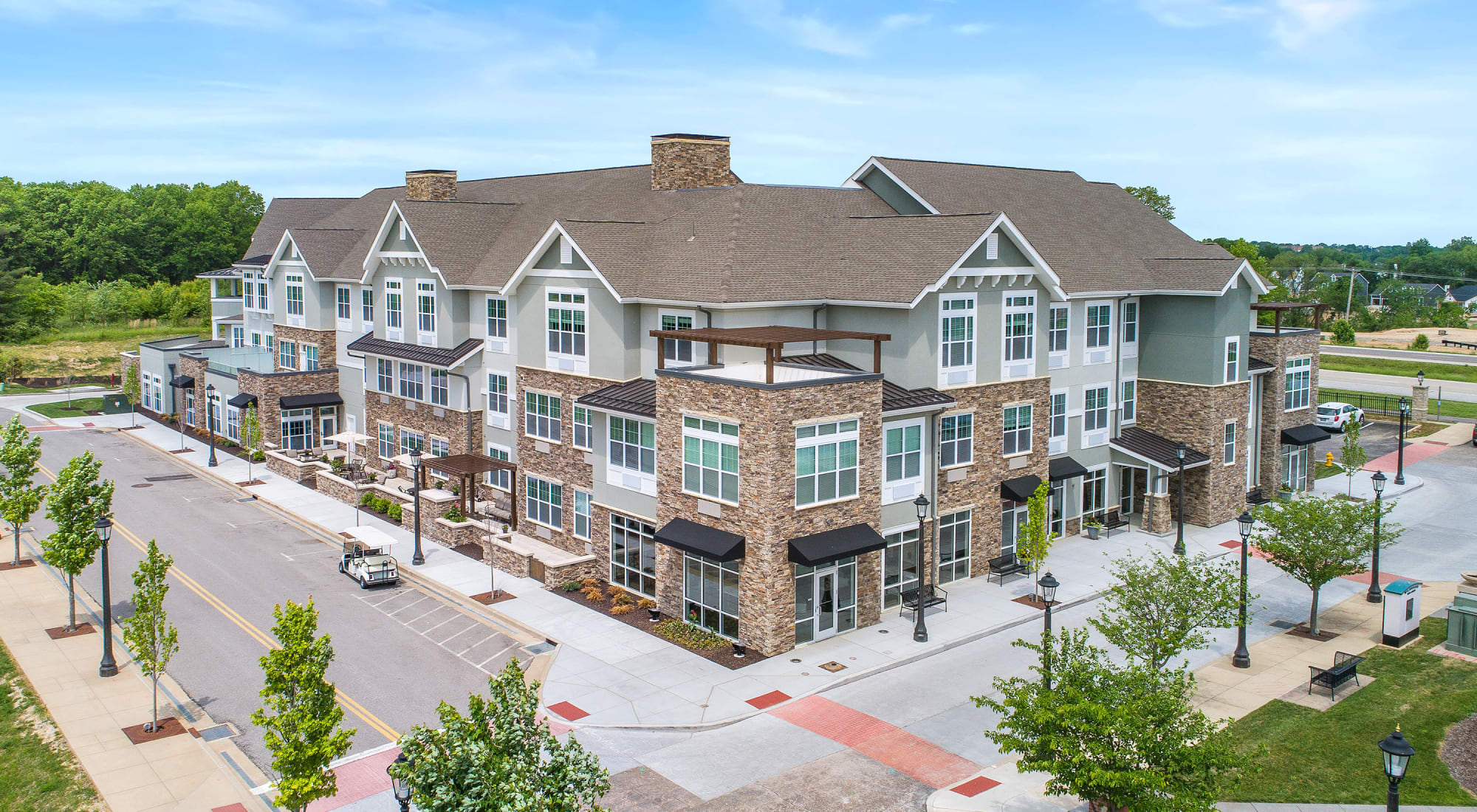 Senior living at Anthology of Wildwood in Wildwood, Missouri