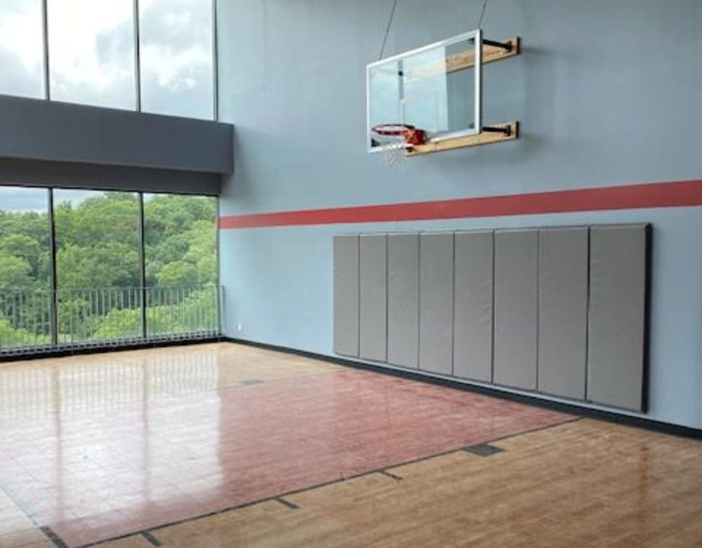 Basketball court at Monarch at Ridge Hill in Yonkers, New York
