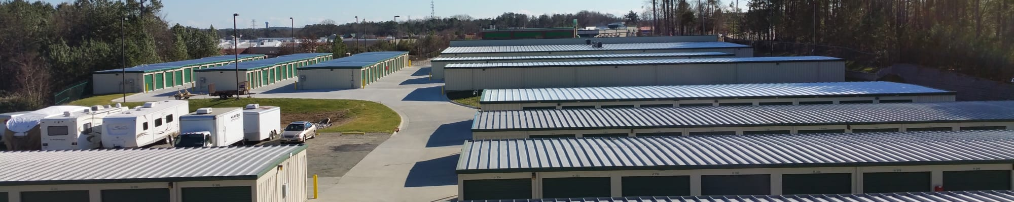 Self Storage at Cardinal Self Storage in Graham, North Carolina