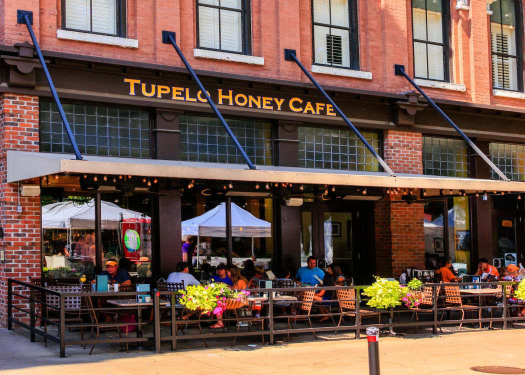 Tupelo Honey coffee shop at The Enclave of Hardin Valley in Knoxville, Tennessee