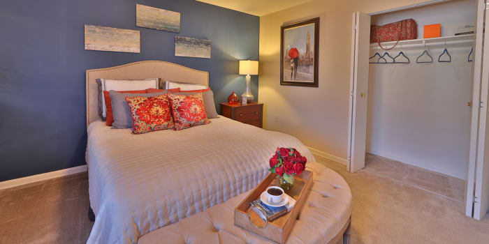 Spacious bedroom at Briarwood Place Apartment Homes