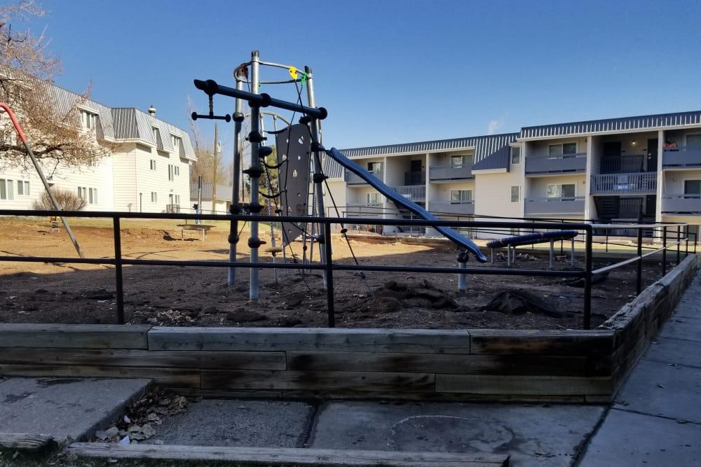 Outdoor playground at Park Terrace in Arvada, Colorado