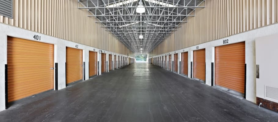 Storage units with extra-spacious, covered access at A-1 Self Storage in San Diego, California