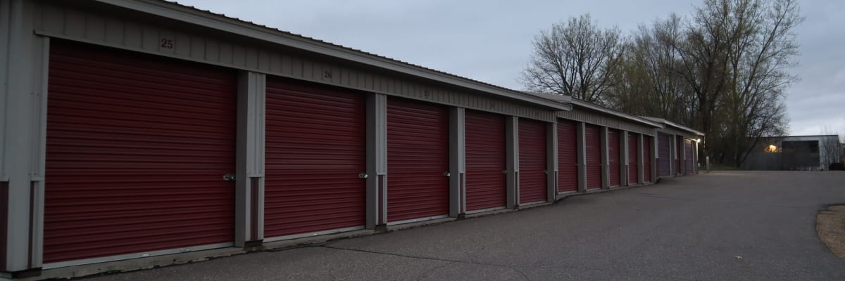 Unit sizes and prices at KO Storage of Hastings in Hastings, Minnesota