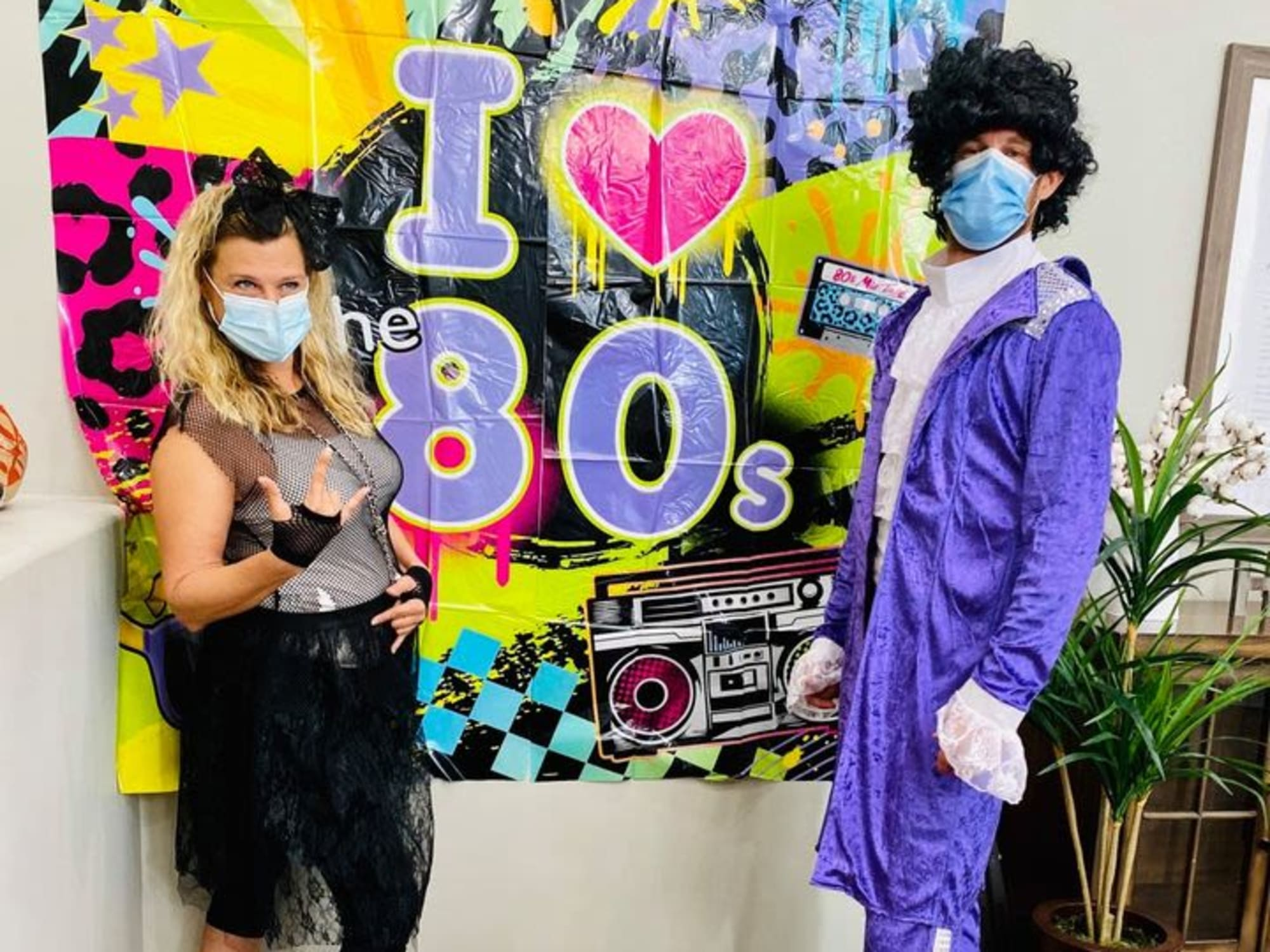 80s party at Hacienda Del Rey in Litchfield Park, AZ