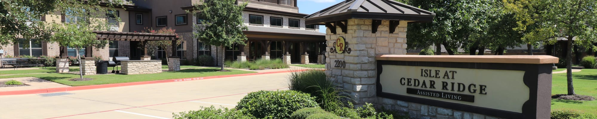 Assisted living at Isle at Cedar Ridge in Cedar Park, Texas