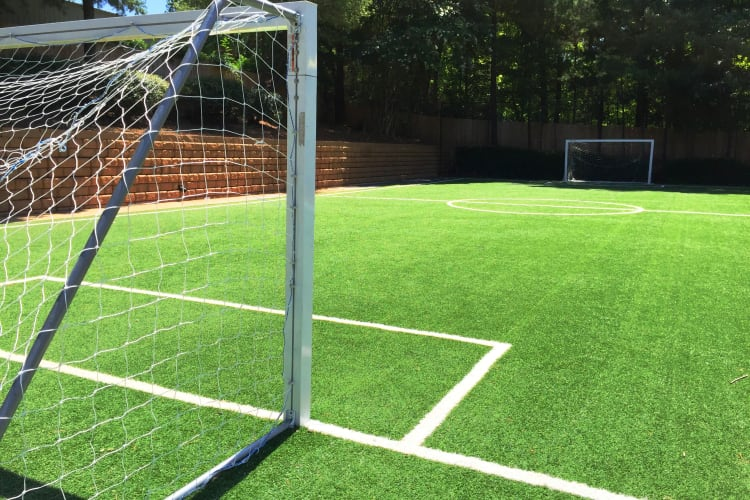 We even have a soccer field at Abbots Glen!