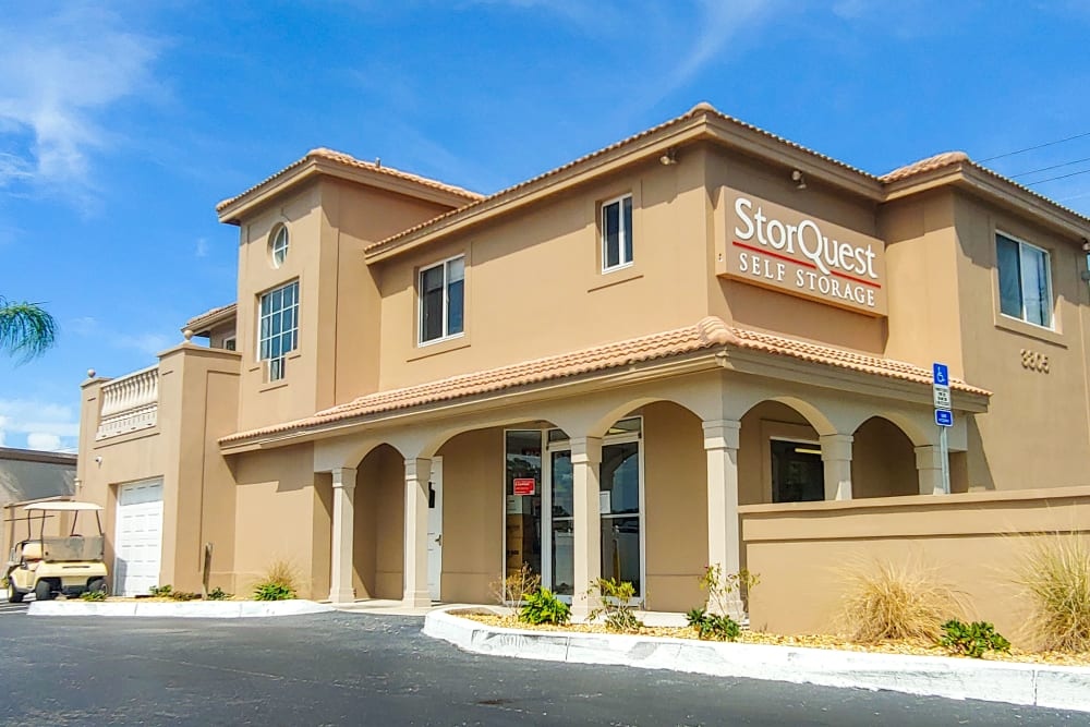 Leasing office at StorQuest Self Storage in Bradenton, FL