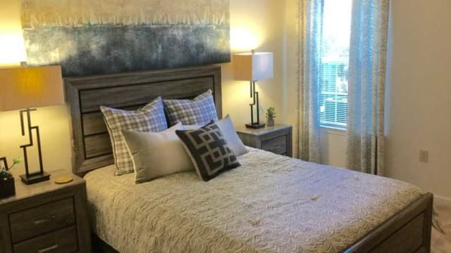 Bedroom at The Enclave at Deep River in Greensboro, NC
