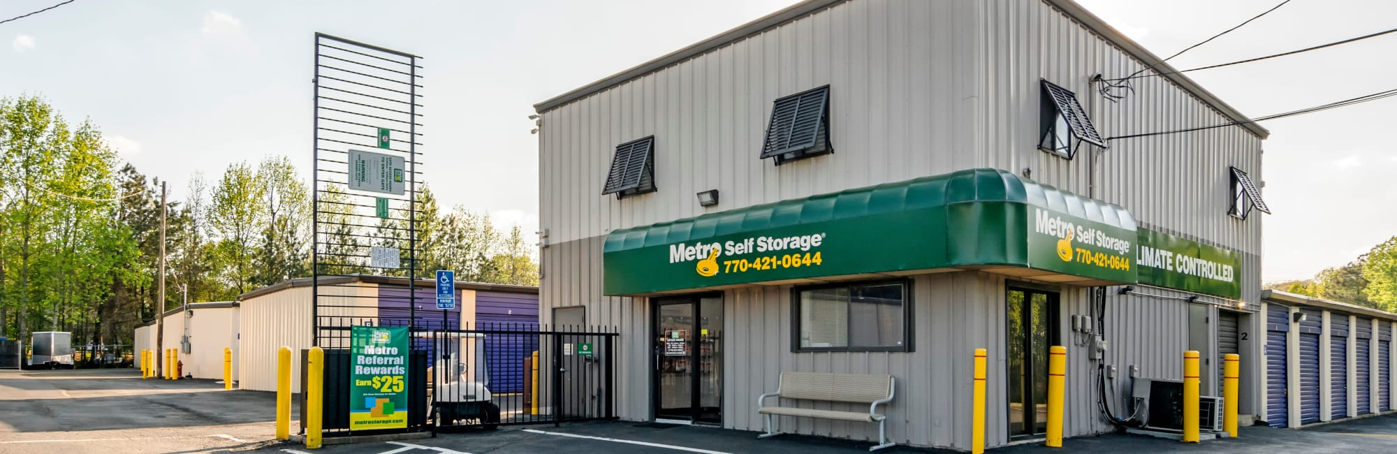Metro Self Storage in Marietta, GA