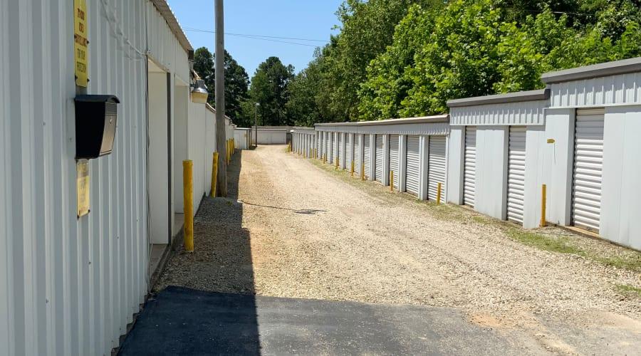 Exterior of outdoor units at KO Storage of Paragould - Kings Hwy in Paragould, Arkansas