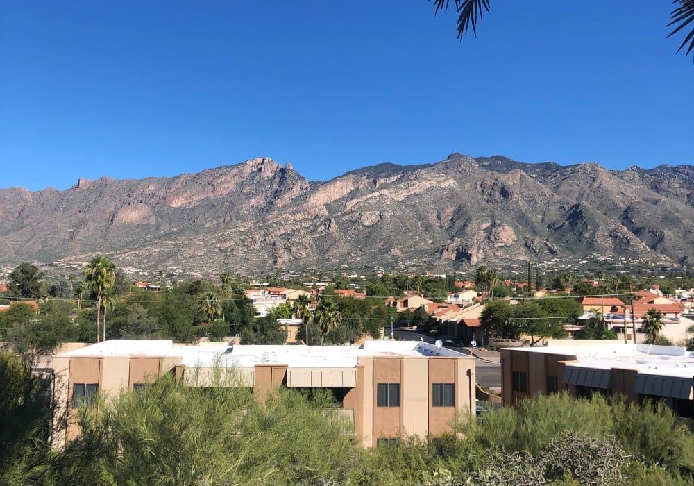 Exterior view at Elevation Apartments in Tucson, Arizona