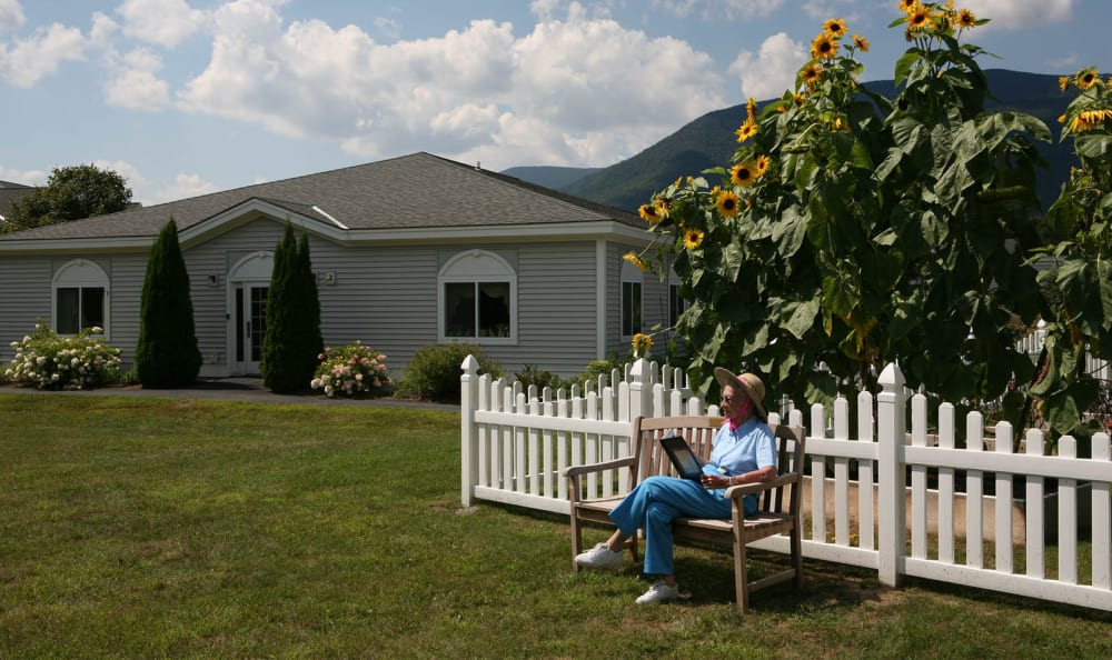 Enjoy spending time outside at Equinox Terrace in Manchester Center, Vermont